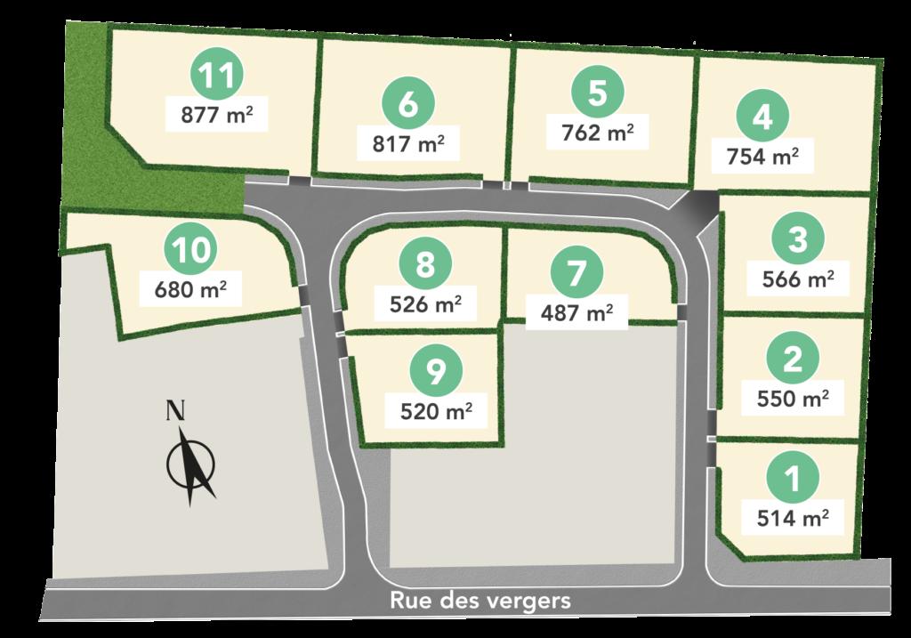 Plan d'aménagement des Allées de Fleurette à Carbon-Blanc